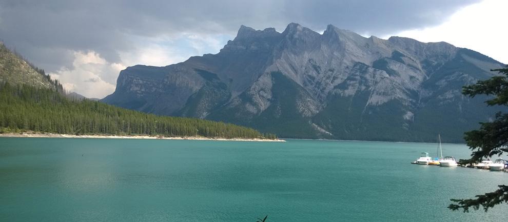 Горы в Канаде